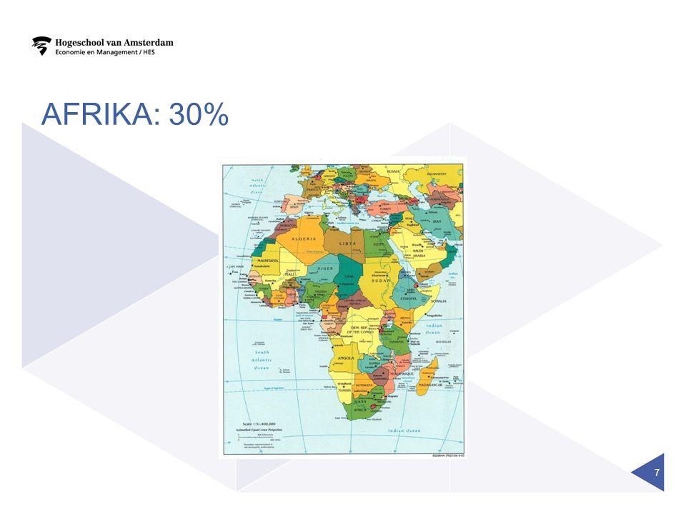 AFRIKA: 30% 7