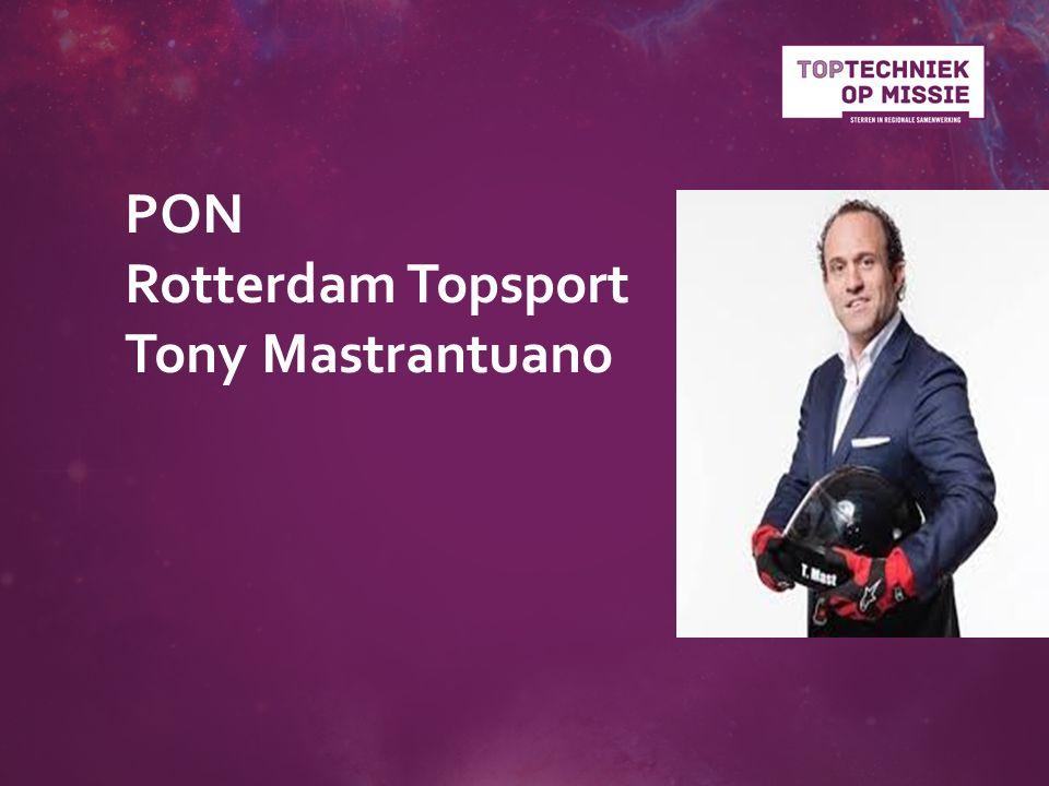 PON Rotterdam Topsport Tony Mastrantuano
