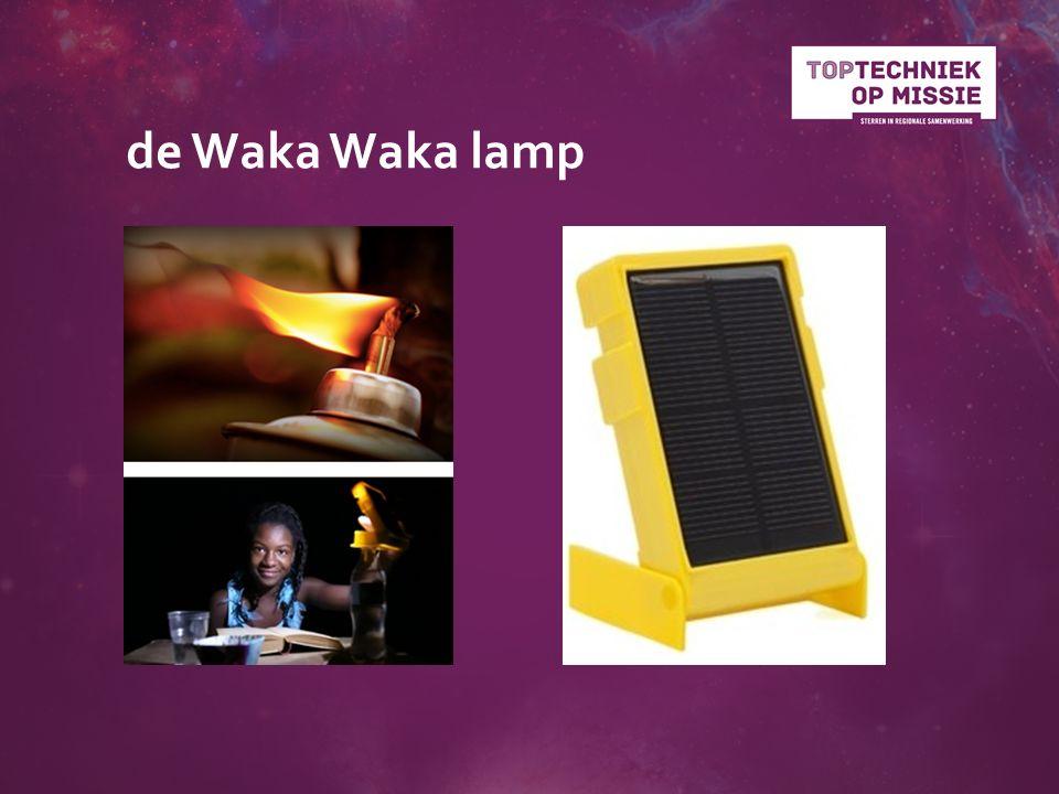 de Waka Waka lamp