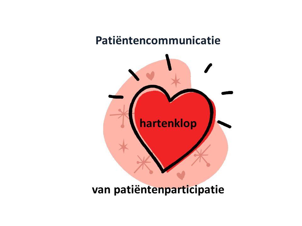 Patiëntencommunicatie hartenklop van patiëntenparticipatie