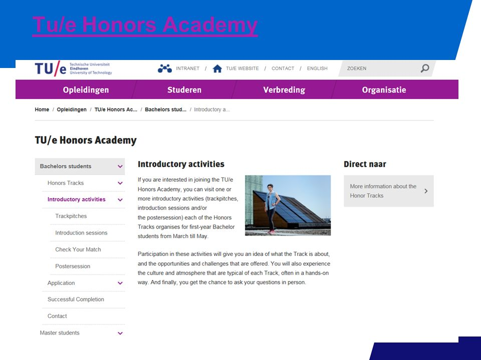 Tu/e Honors Academy