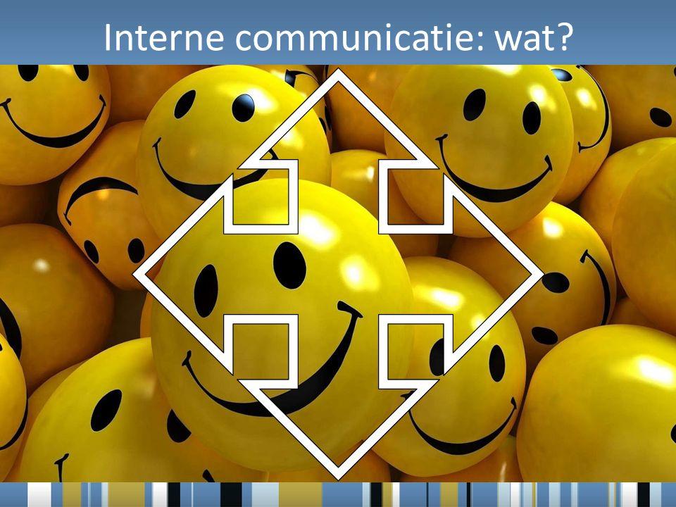 Interne communicatie: wat?