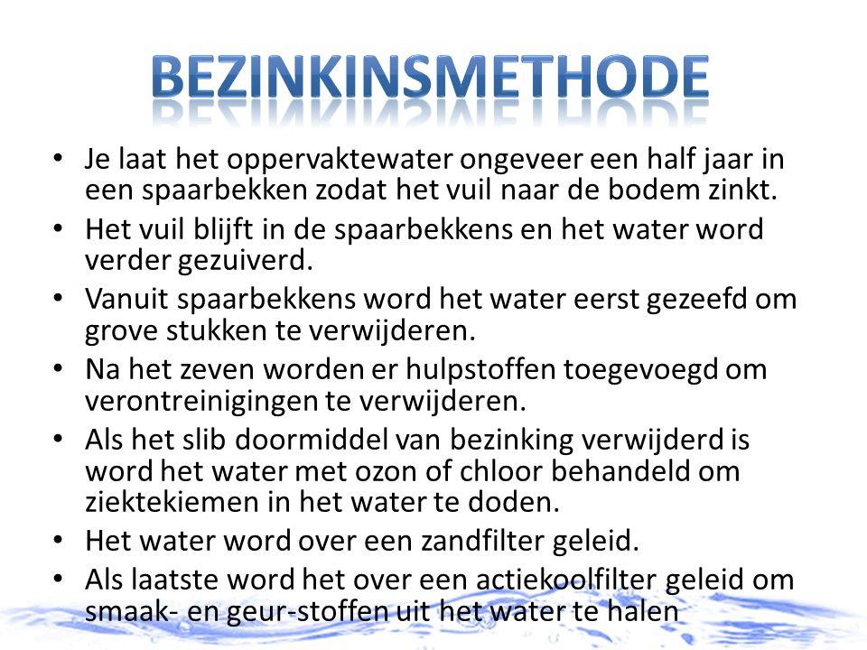 Het waterverbruik neemt steeds toe en het kost steeds meer moeite om goed en voldoende drinkwater te maken.