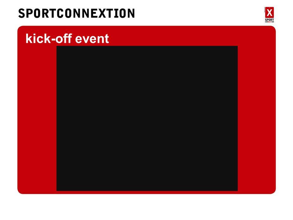 Kick-off kick-off event