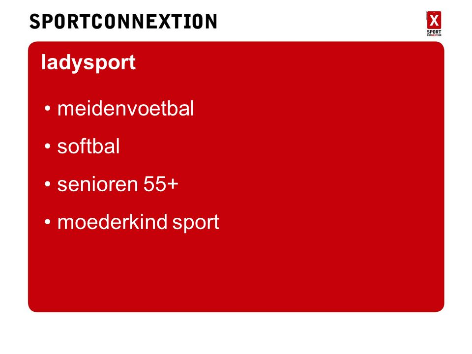ladysport meidenvoetbal softbal senioren 55+ moederkind sport