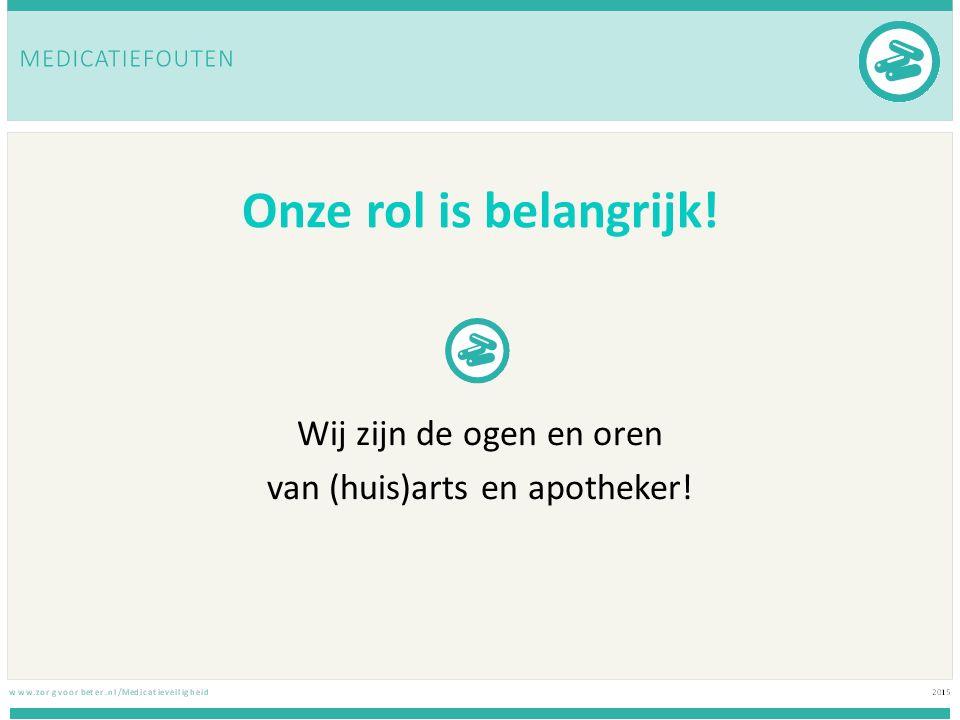 Tip Rodevlaggeninstrument met behulp van artsen en apothekers heeft Hogeschool Utrecht 28 signalen (rode vlaggen) vastgesteld die duiden op medicatie gerelateerde problemen deze lijst geeft een overzicht van signalen die kunnen duiden op problemen met medicatiegebruik
