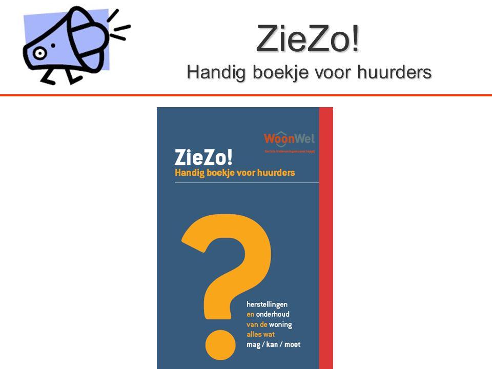 ZieZo! Handig boekje voor huurders