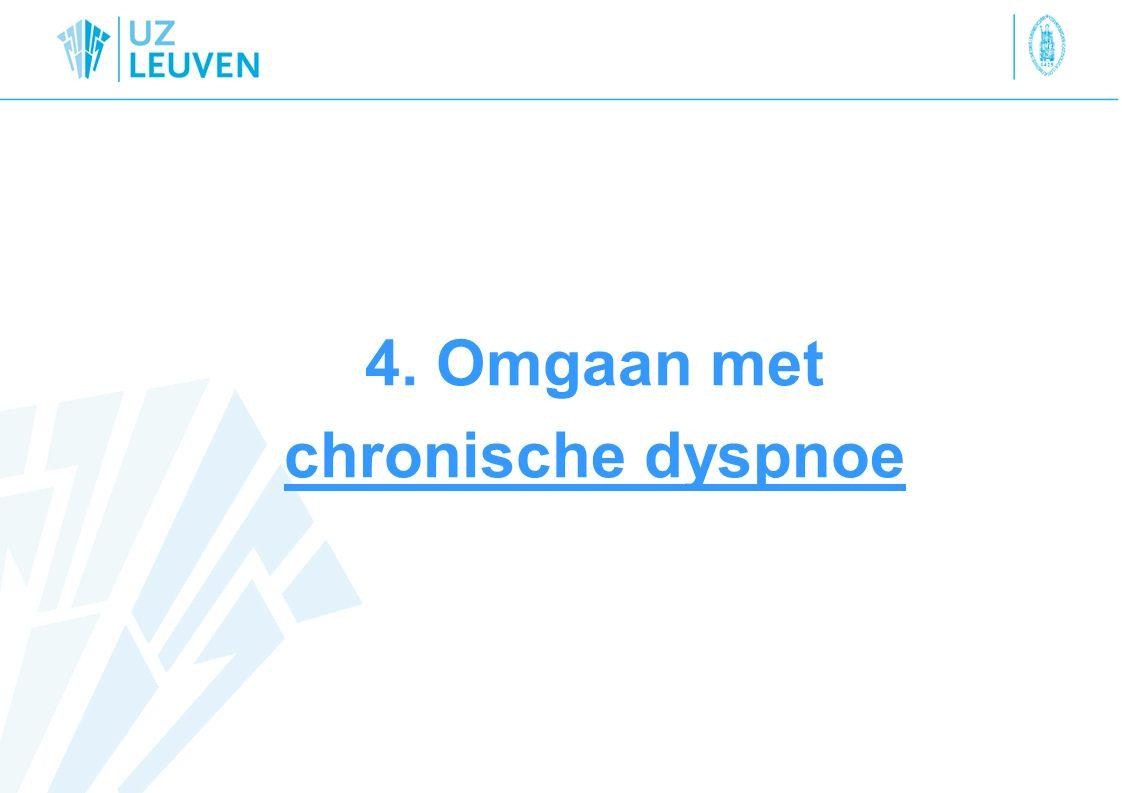 4. Omgaan met chronische dyspnoe