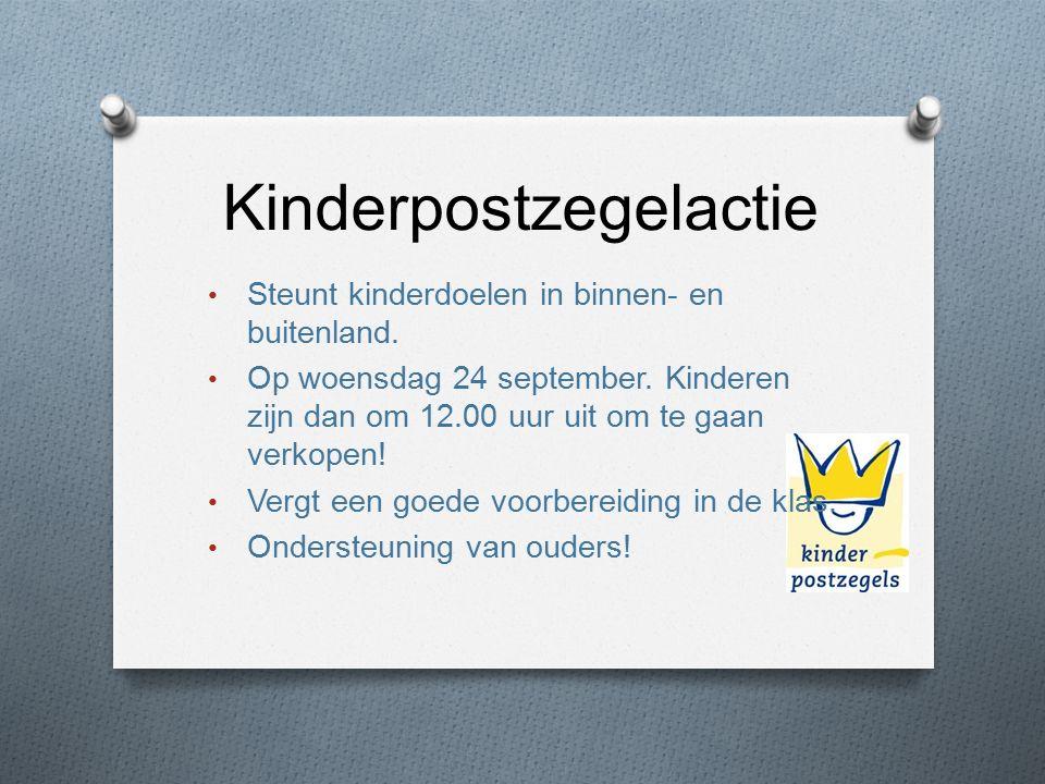 Kinderpostzegelactie Steunt kinderdoelen in binnen- en buitenland.
