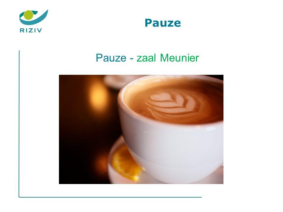 Pauze Pauze - zaal Meunier
