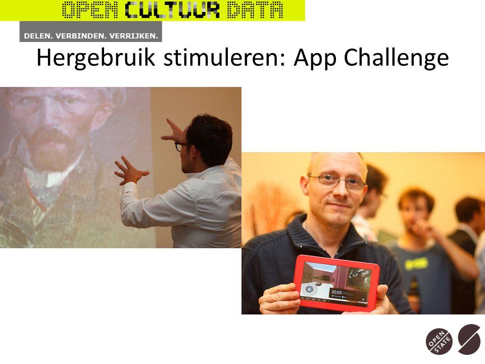Hergebruik stimuleren: App Challenge