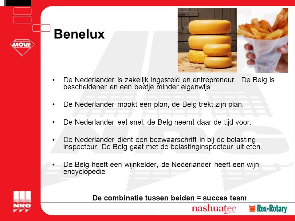 Benelux De Nederlander is zakelijk ingesteld en entrepreneur.