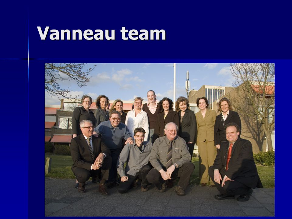 Vanneau team