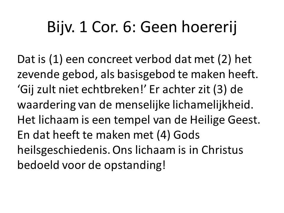 Bijv. 1 Cor.