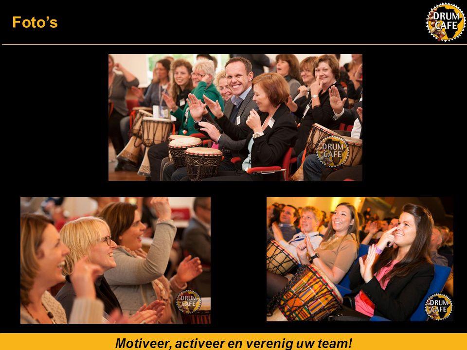 Motiveer, activeer en verenig uw team! Foto's