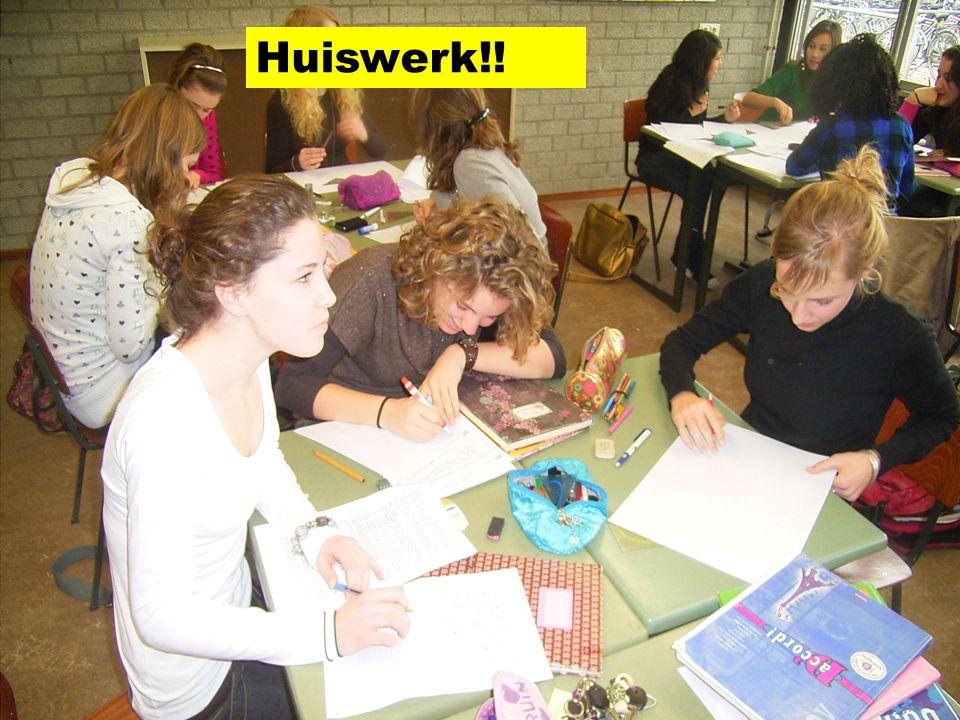 Huiswerk!!