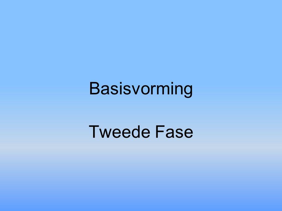 Basisvorming Tweede Fase