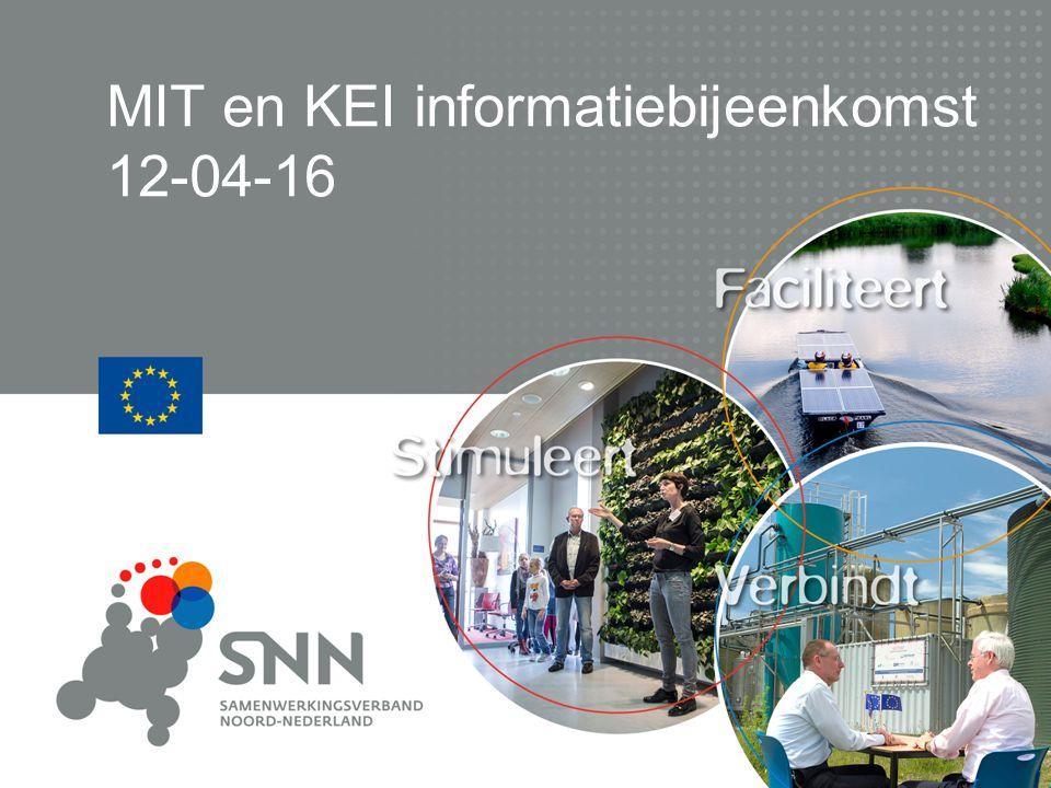 MIT en KEI informatiebijeenkomst 12-04-16