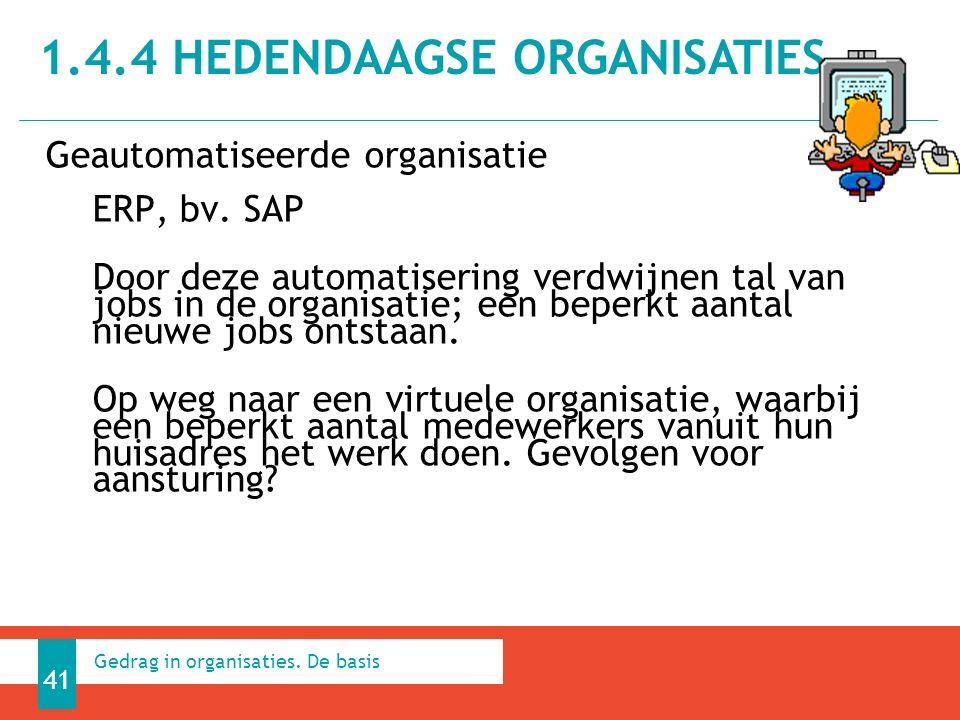 Geautomatiseerde organisatie ERP, bv.