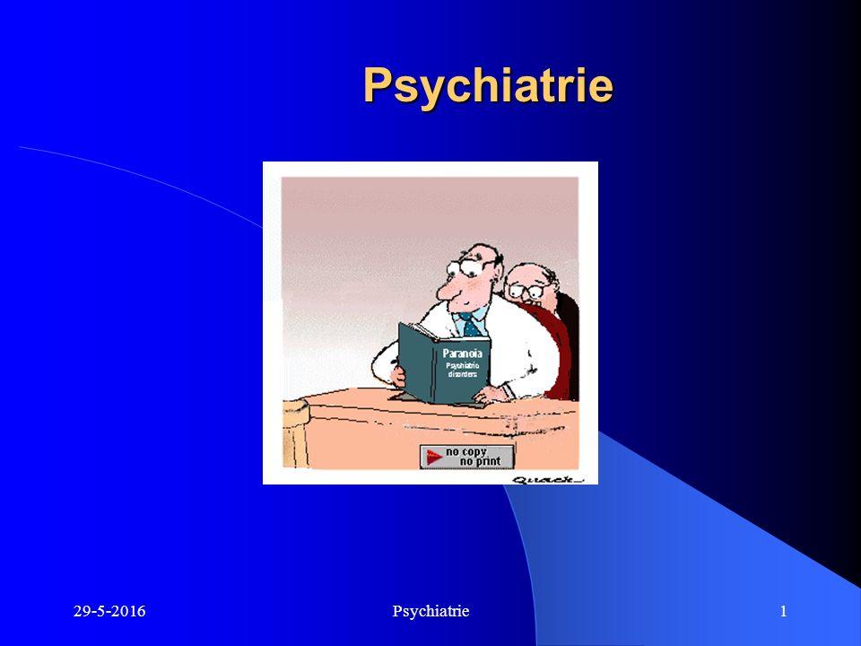 29-5-2016Psychiatrie1 Psychiatrie Psychiatrie
