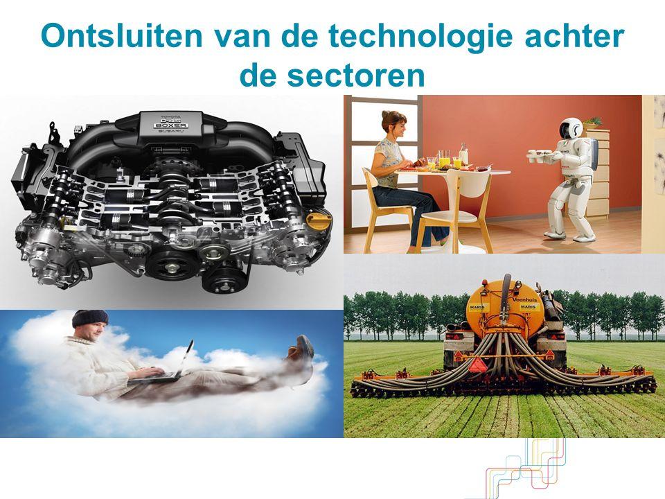Ontsluiten van de technologie achter de sectoren