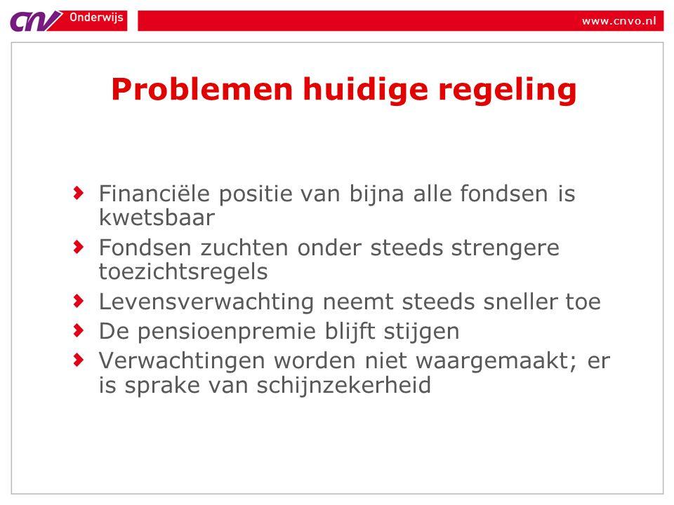 www.cnvo.nl Generatie-effecten: Wie krijgt wat.