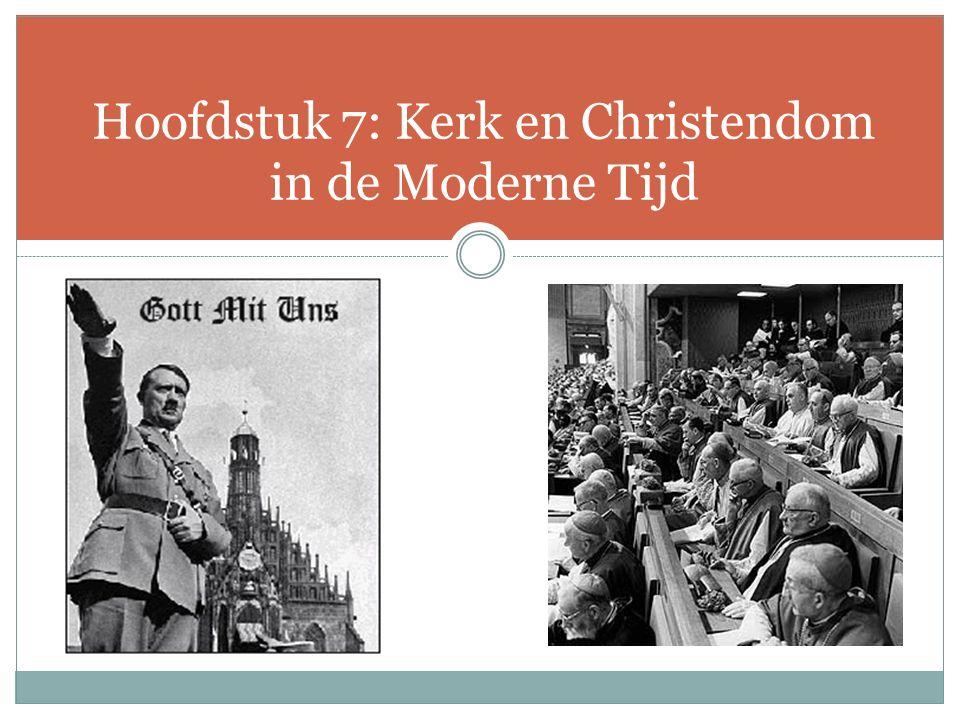 8.Theologie in beweging Na WO I: schok burgerlijk optimisme theologen – Karl Barth.