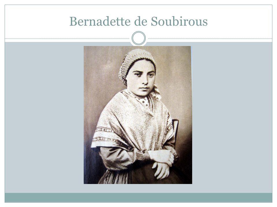 Bernadette de Soubirous