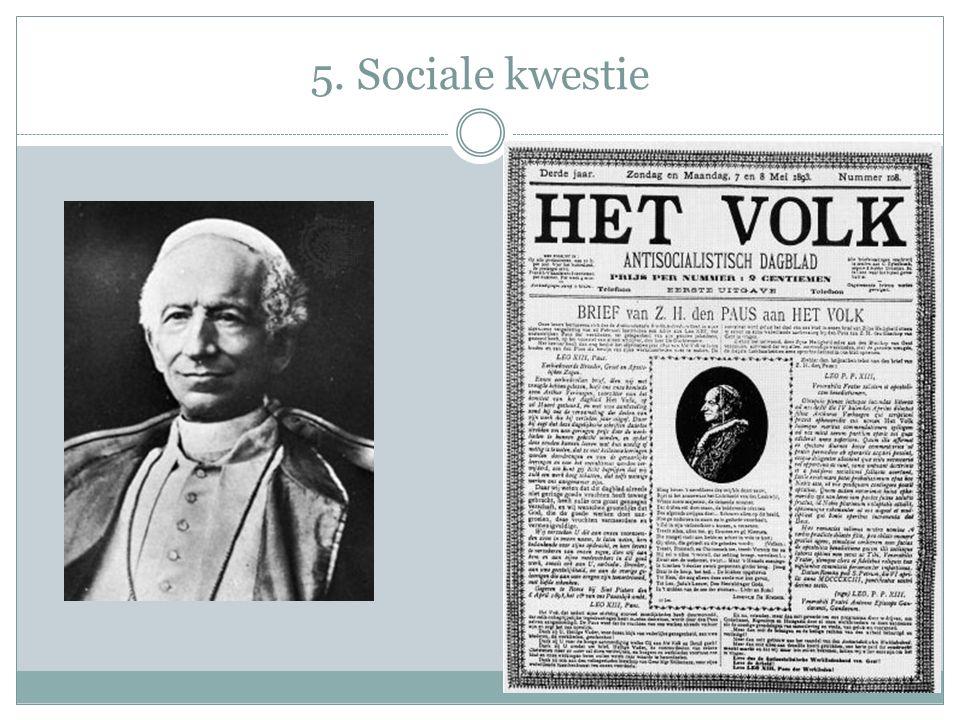 5. Sociale kwestie