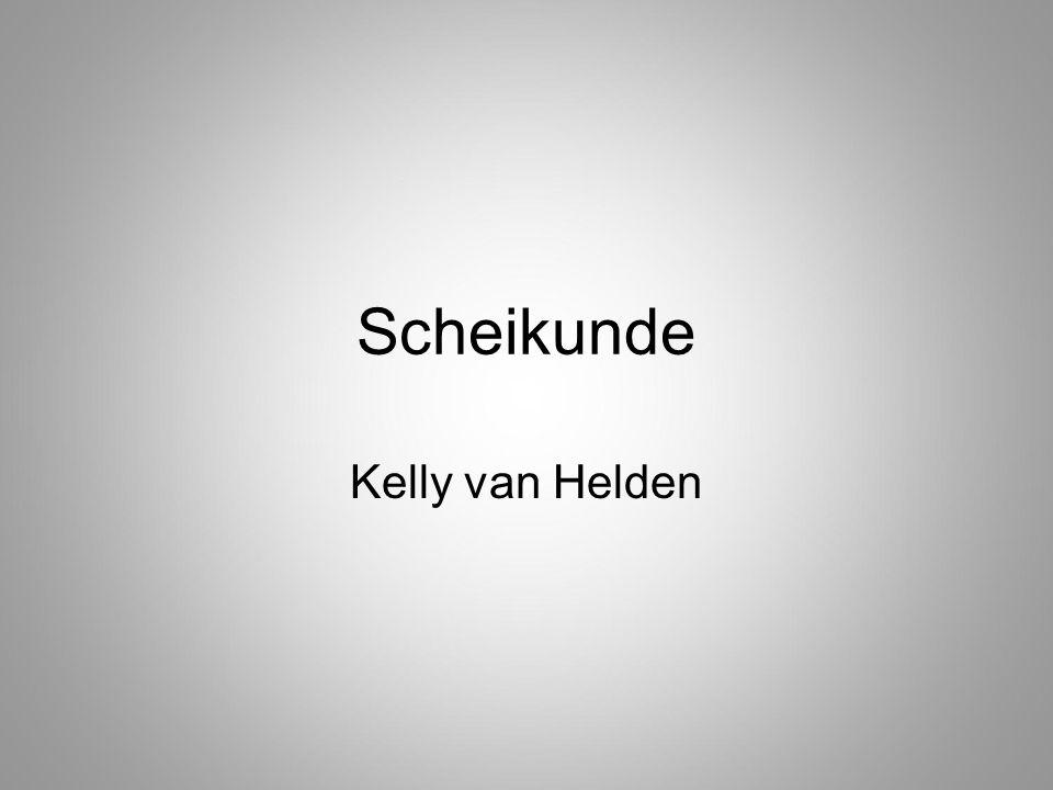 Scheikunde Kelly van Helden