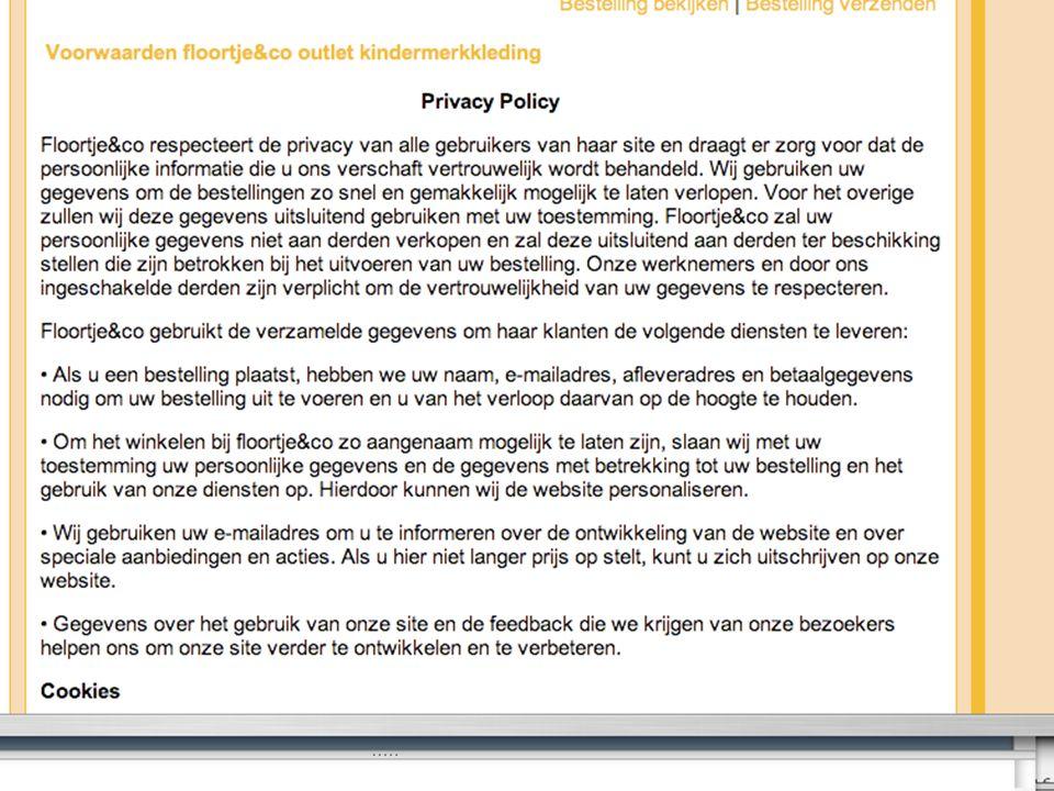 www.vwsadvocaten.nl 5 Floortje algemene voorwaarden
