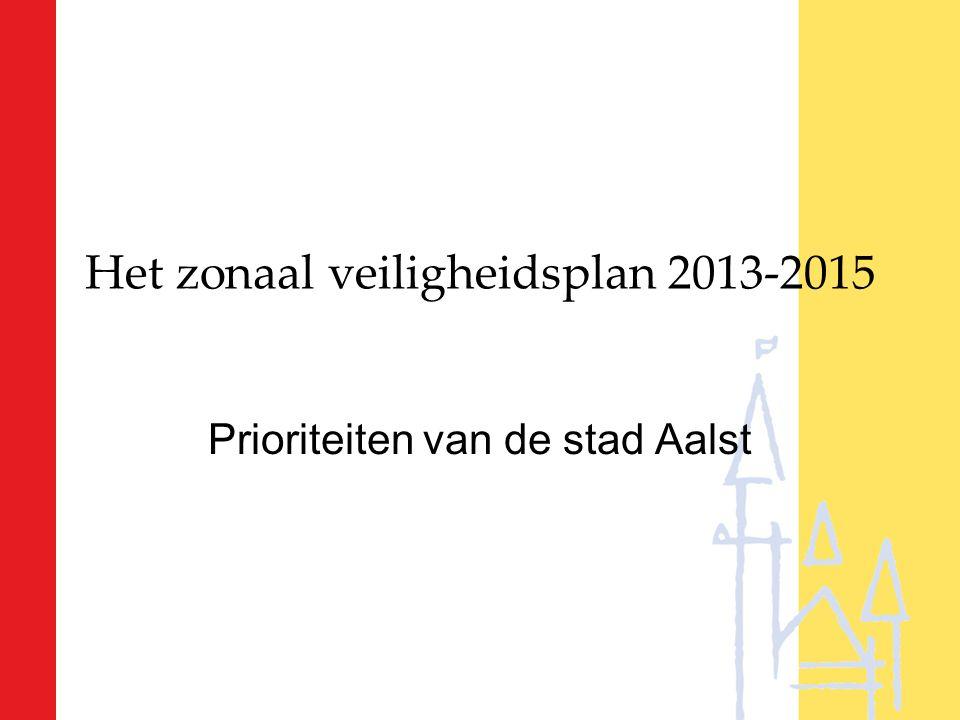Het zonaal veiligheidsplan 2013-2015 Prioriteiten van de stad Aalst
