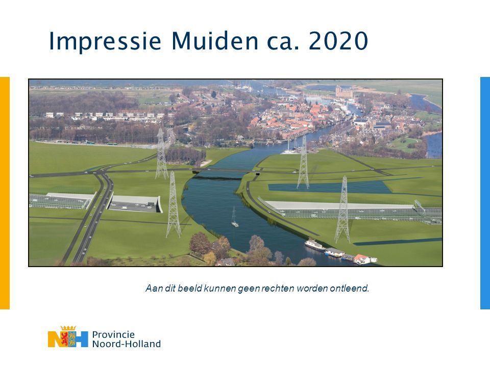 Impressie Muiden ca. 2020 Aan dit beeld kunnen geen rechten worden ontleend.