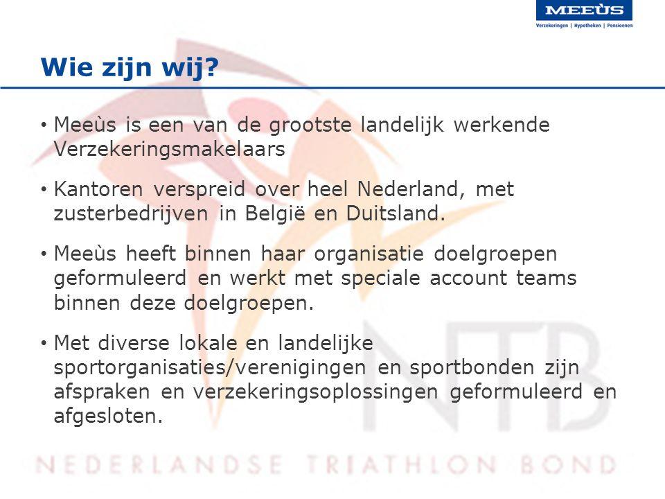 Wie zijn wij? Meeùs is een van de grootste landelijk werkende Verzekeringsmakelaars Kantoren verspreid over heel Nederland, met zusterbedrijven in Bel
