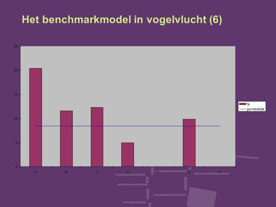 Het benchmarkmodel in vogelvlucht (6)