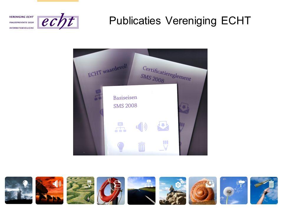 Publicaties Vereniging ECHT