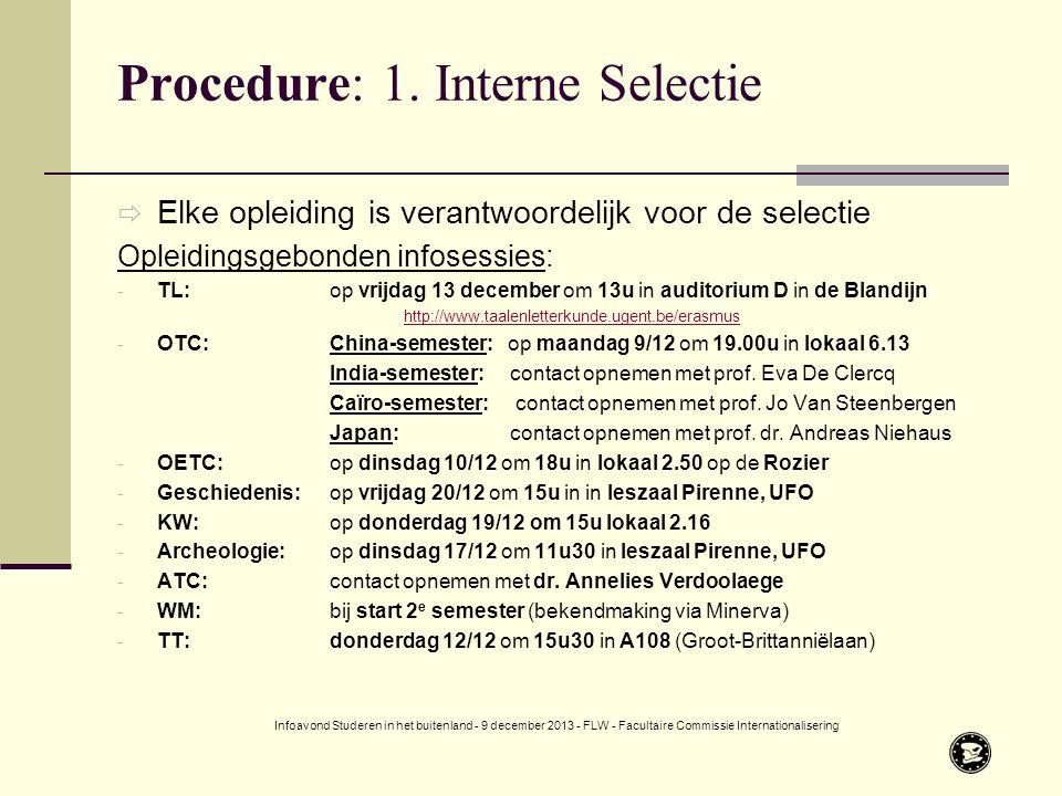 Procedure: 1.