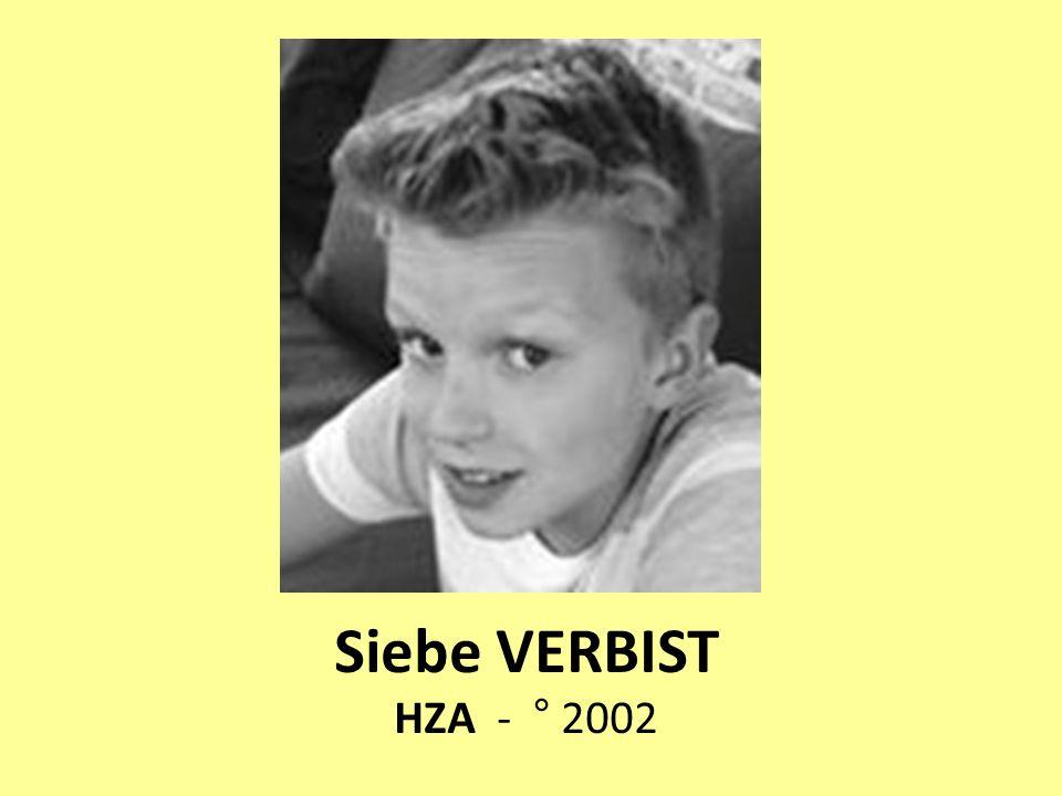 Siebe VERBIST HZA - ° 2002