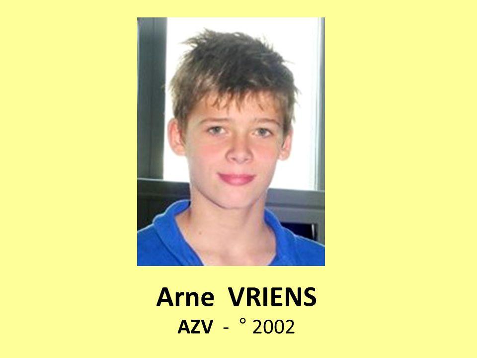 Arne VRIENS AZV - ° 2002