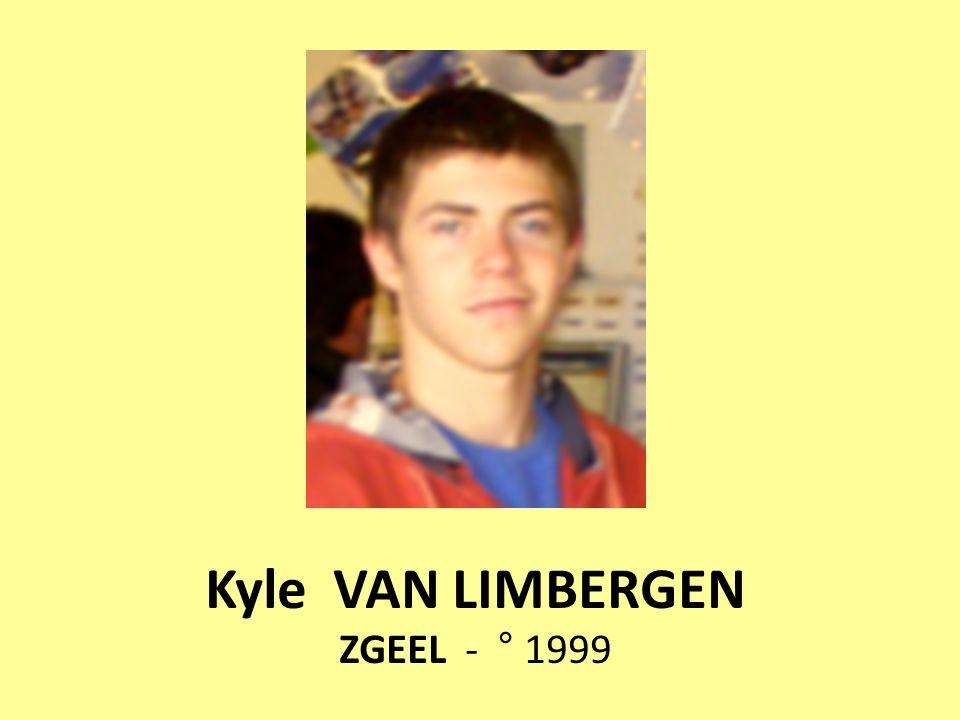 Kyle VAN LIMBERGEN ZGEEL - ° 1999