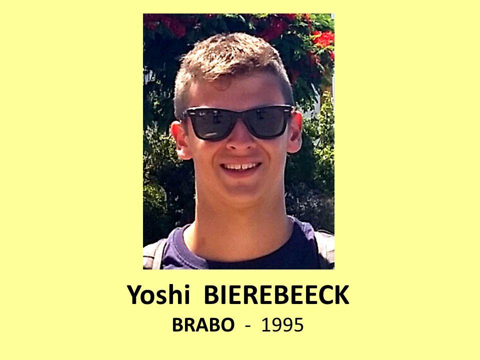 Yoshi BIEREBEECK BRABO - 1995