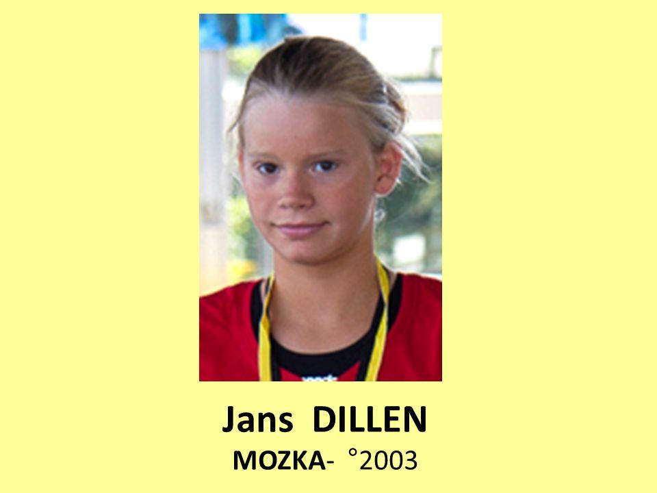 Jans DILLEN MOZKA- °2003