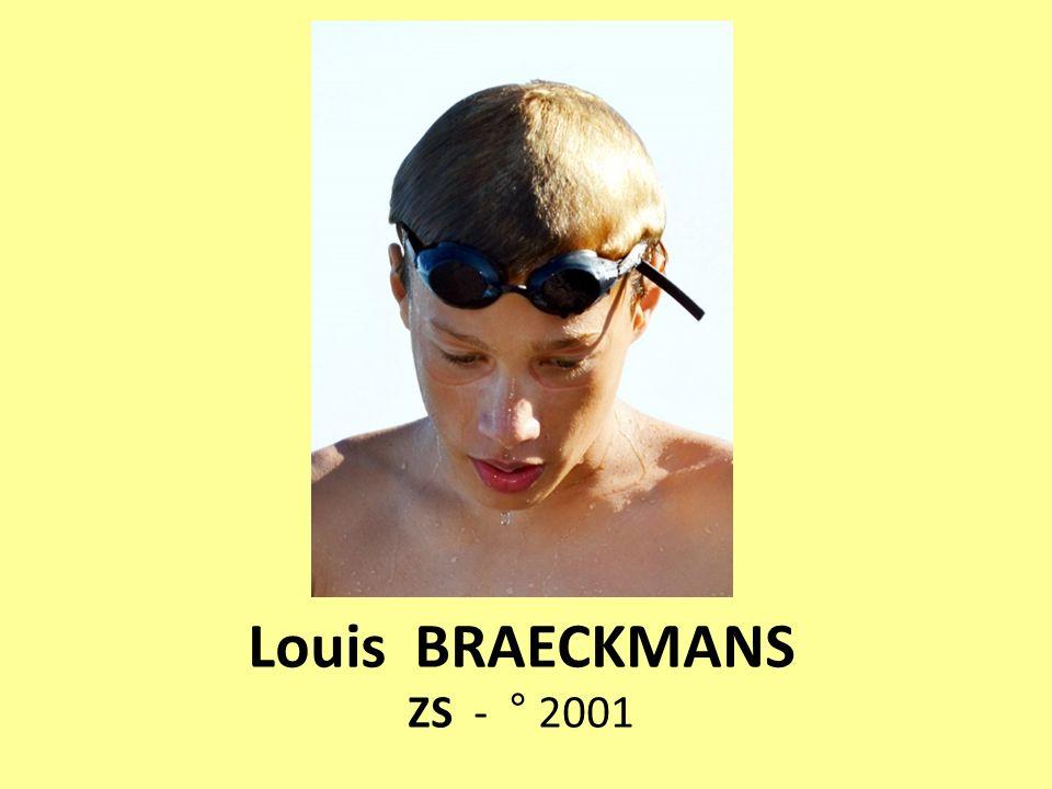 Louis BRAECKMANS ZS - ° 2001