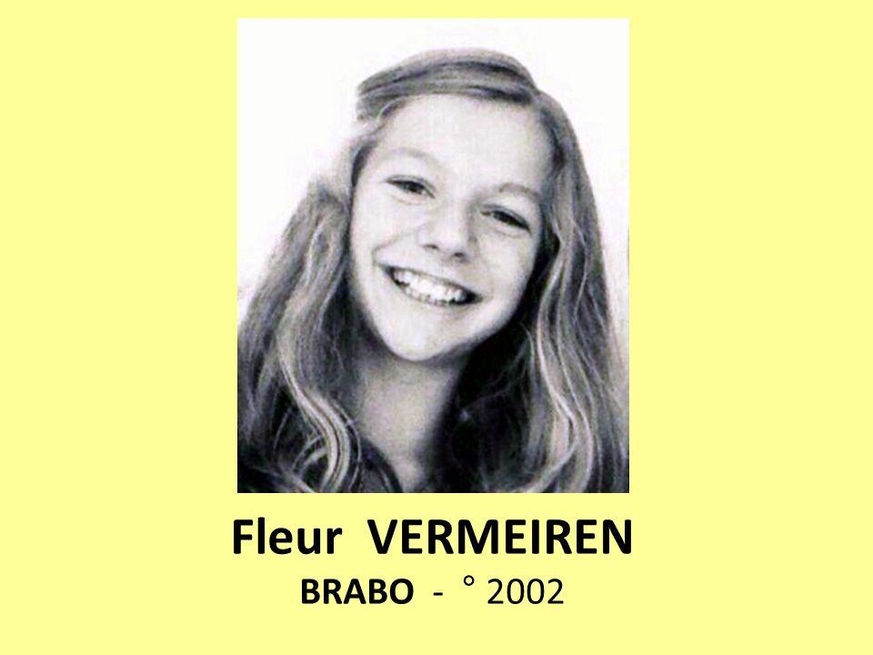 Fleur VERMEIREN BRABO - ° 2002