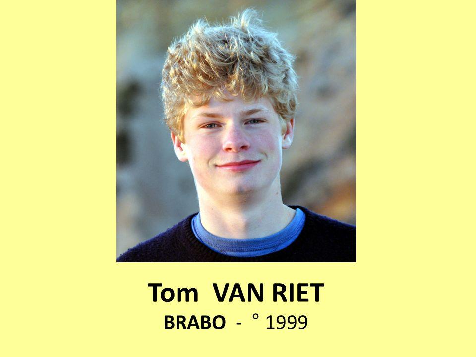 Tom VAN RIET BRABO - ° 1999