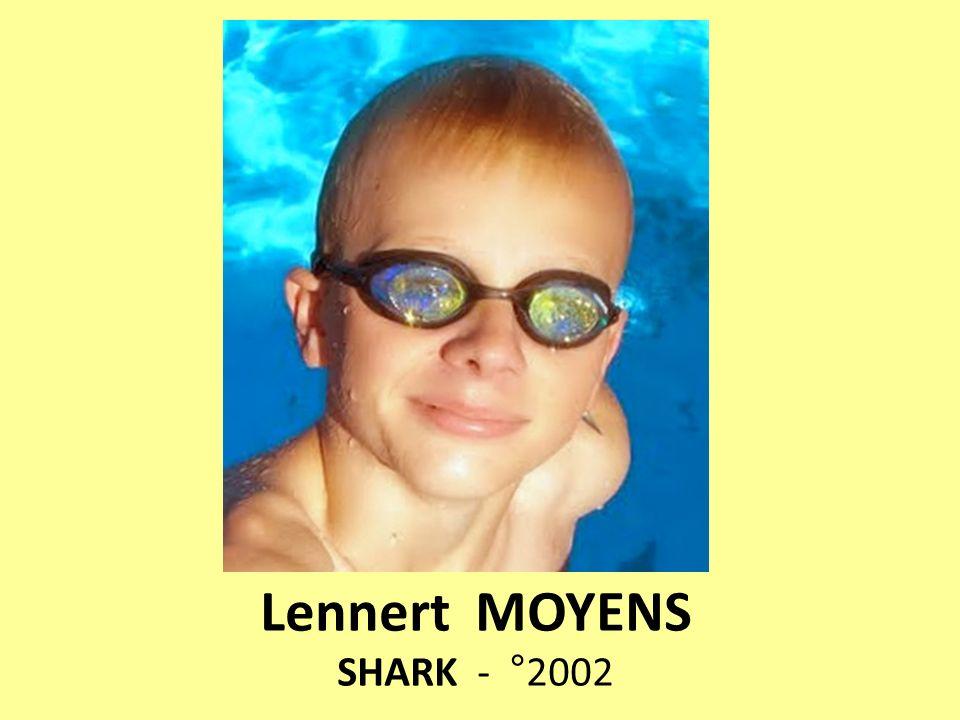 Lennert MOYENS SHARK - °2002