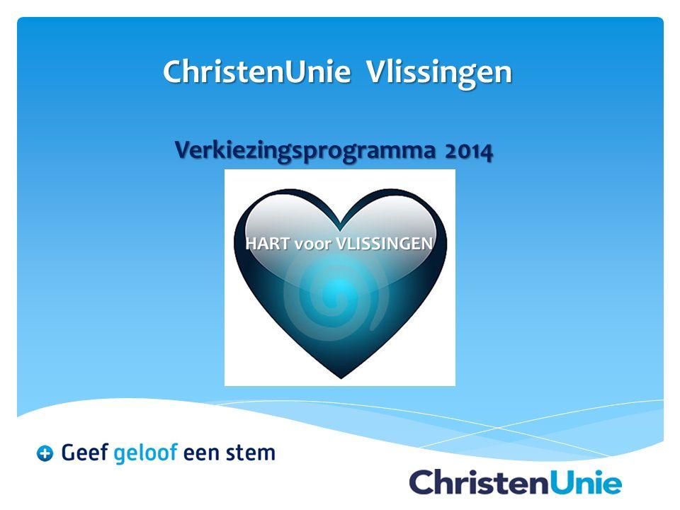 ChristenUnie Vlissingen Verkiezingsprogramma 2014