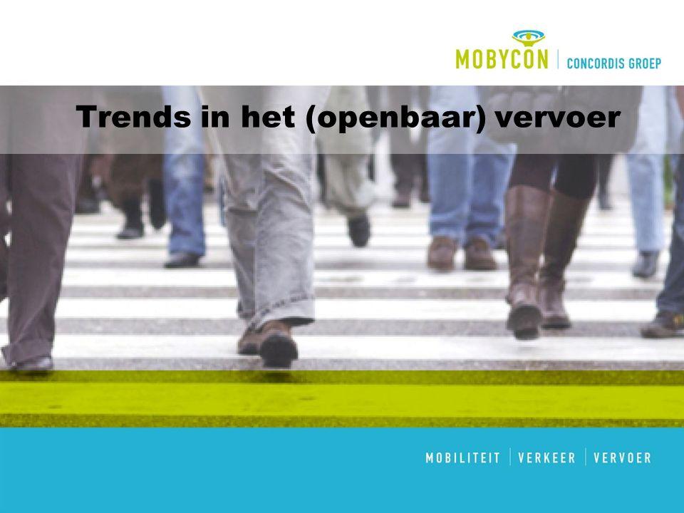 Trends in het (openbaar) vervoer