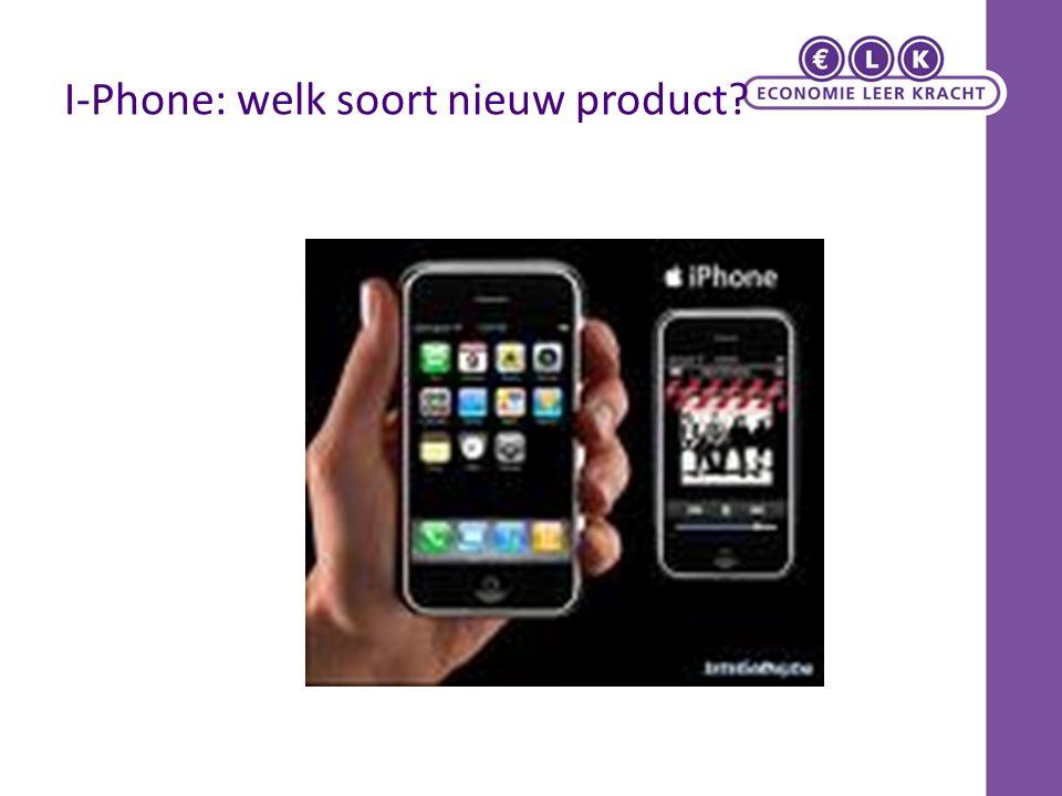 I-Phone: welk soort nieuw product