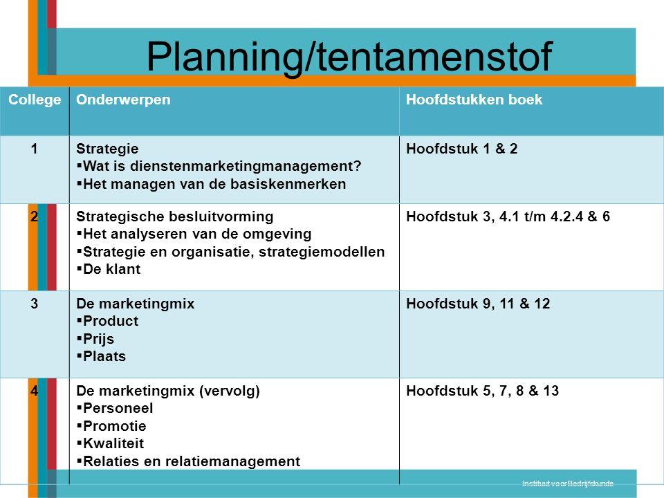Dienstenmarketing Twee termen: 1.Diensten 2.Marketing